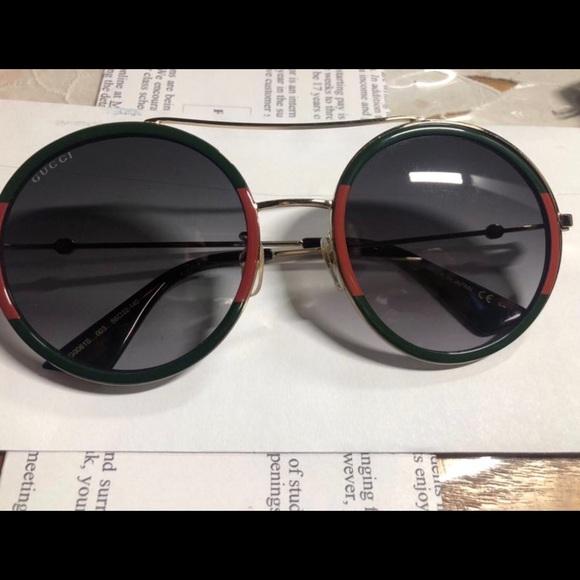 a51774434 Gucci Accessories | Roundframe Metal Sunglasses | Poshmark